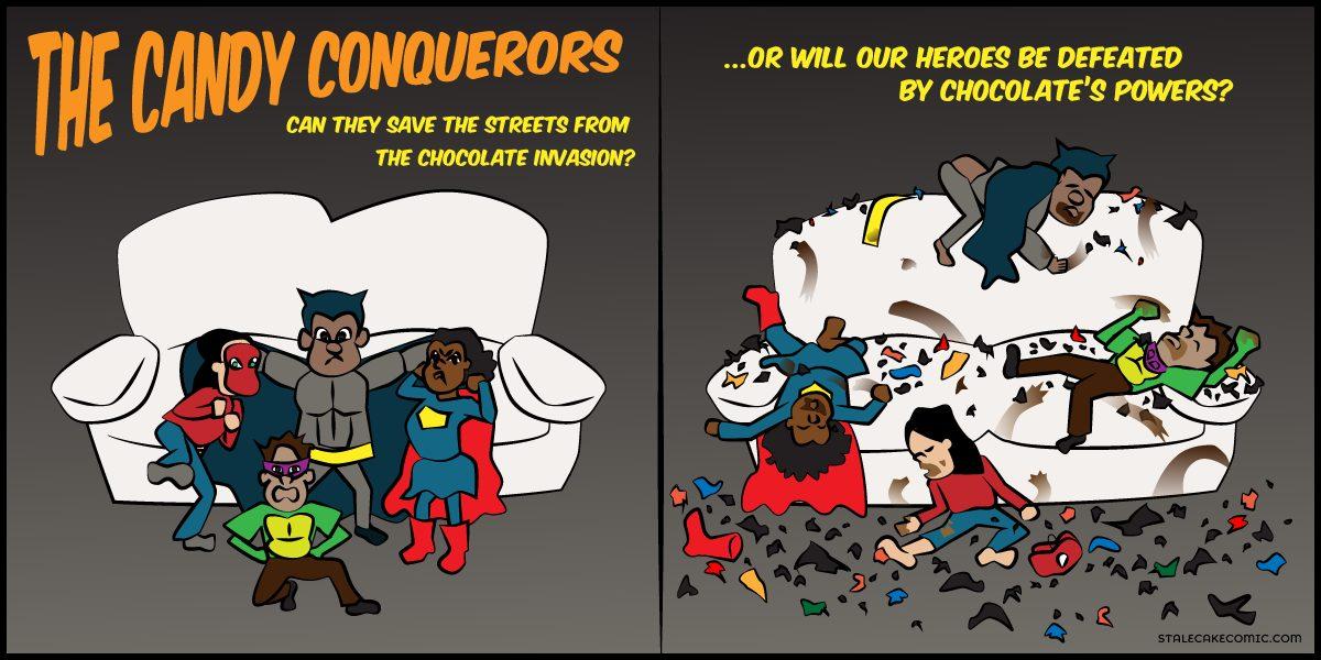 Candy Conquerors - Stale Cake Comics