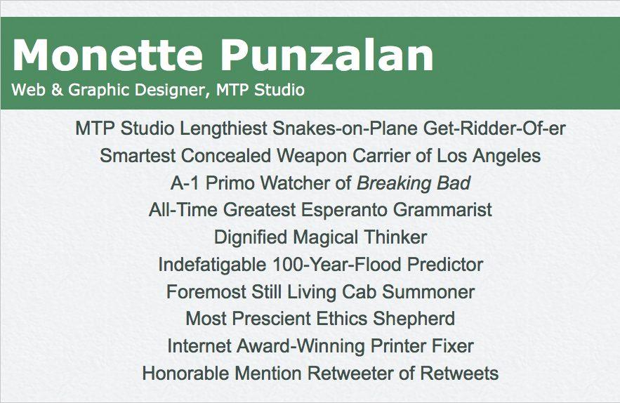 Busy Business Cards - mtpstudio.com