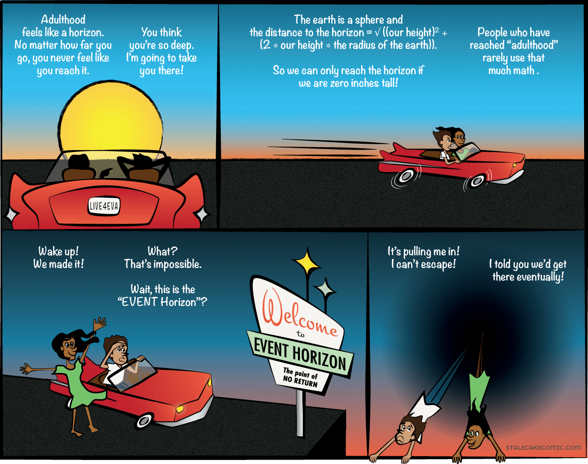 Adulthood Horizon - Stale Cake Comics